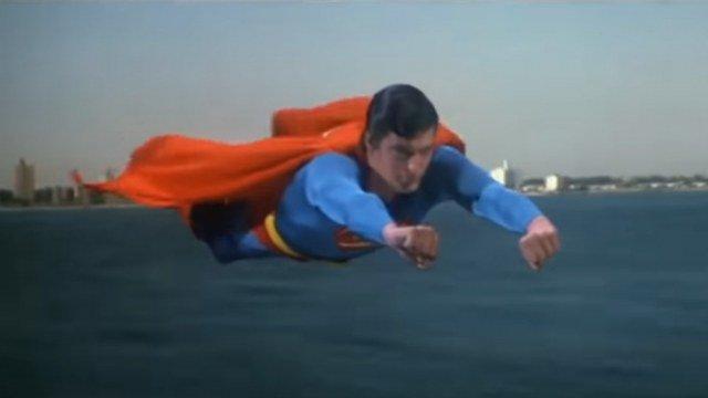 Supermen u letu